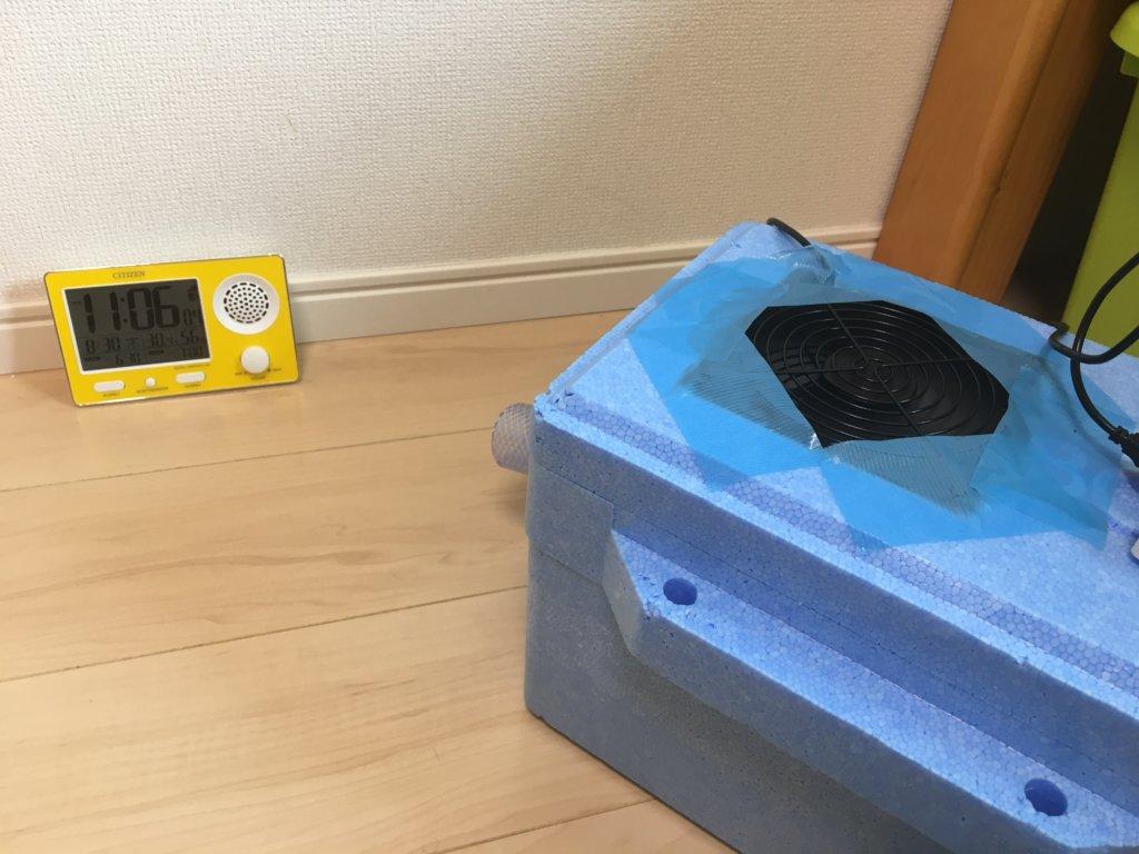自作 クーラー 猫用 DIY