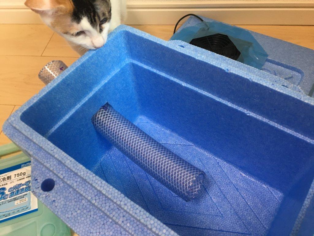 猫用 クーラー 保冷剤 diy