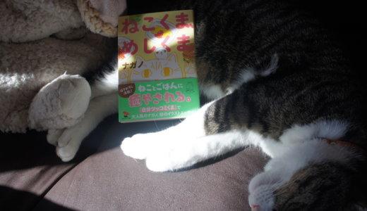 【書評:ねこくま、めしくま】LINE&Twitter発!自分ツッコミくまのナガノさんの猫エッセイの感想!