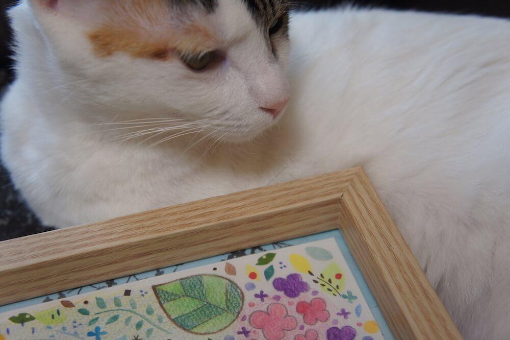 あめつゆイラスト なっつ。 ぷぅにゃん日和 インスタ企画 Instagram 当選 猫イラスト