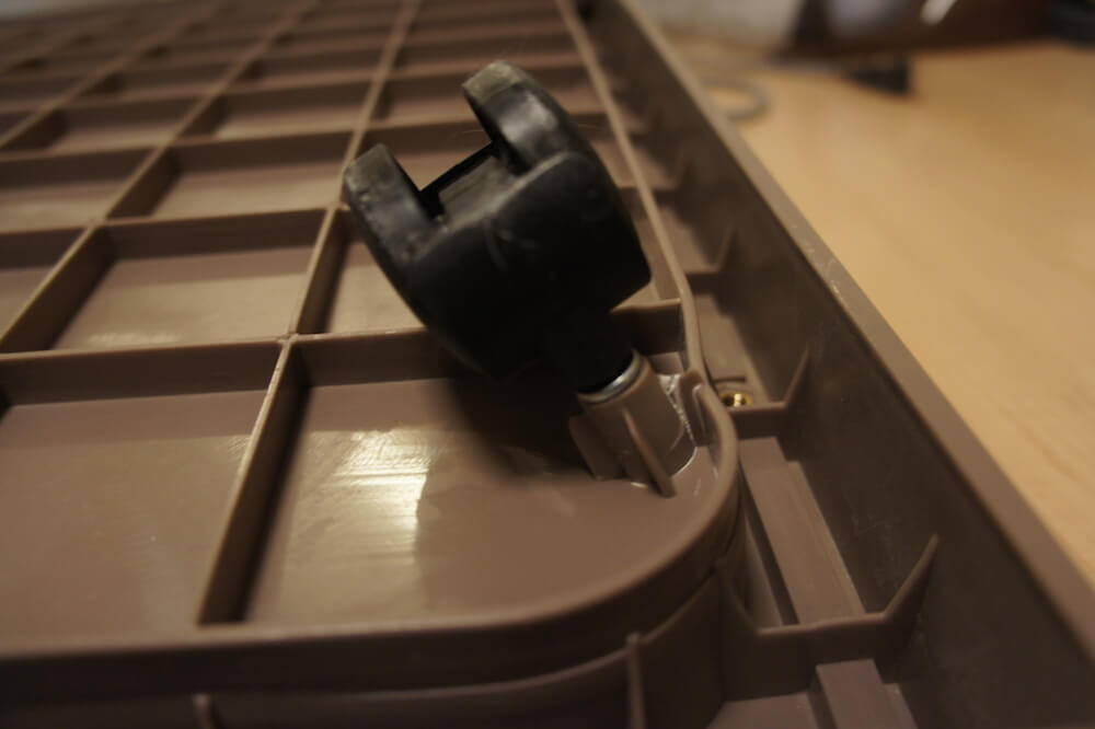 三段ケージ キャットケージ ウッドフレーム 木製 レビュー 感想 一年使用 猫 三毛猫 キジ白 傾き 対策 重量オーバー