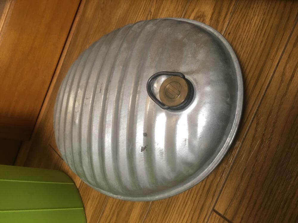 湯たんぽ マルカ 金属 トタン