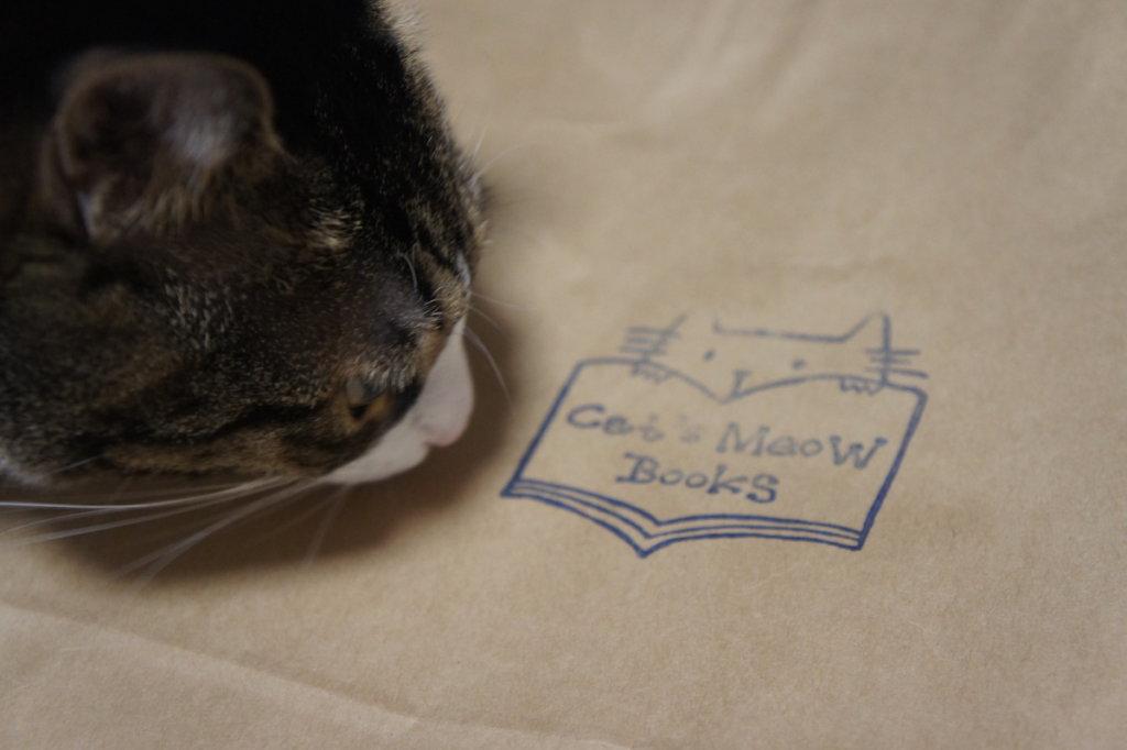 猫本屋 Cat'sMeowBooks キャットミャウブックス 2021年 福袋 三軒茶屋 西太子堂 キジ白 つゆ