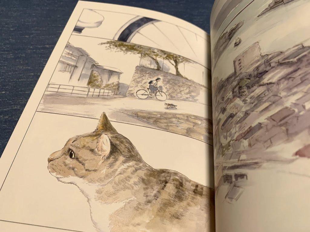警備員さんと猫 尾道市立美術館 ケンちゃん ゴッちゃん 猫マンガ にごたろ モチャ キジ白