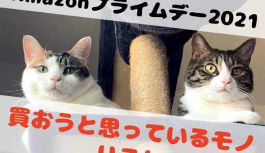 Amazonプライムデー2021で購入予定リスト。猫とかペット用品とか関係無く買うつもりのアイテム達!